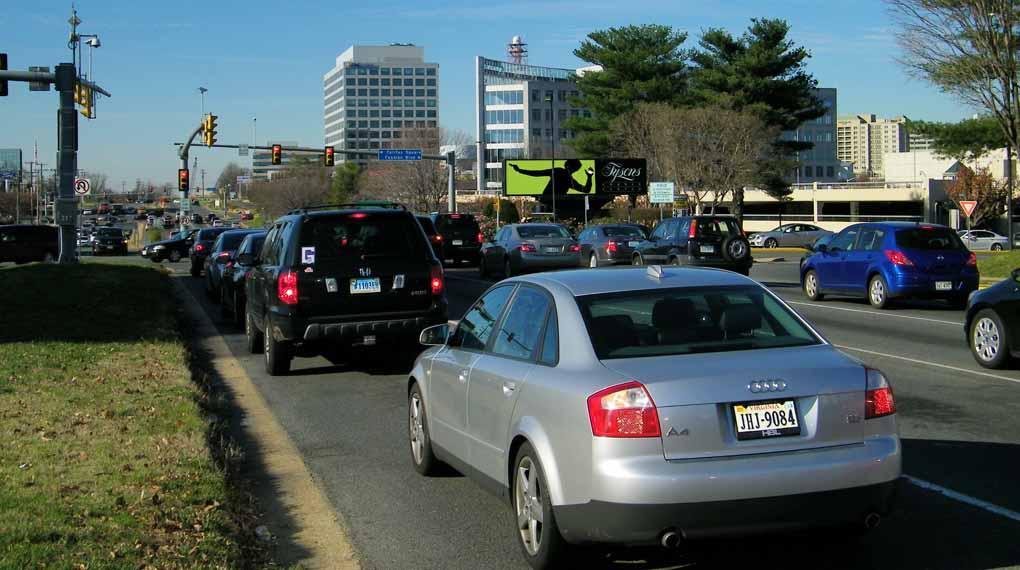 Tyson's Corner Center Billboard Washington DC 031